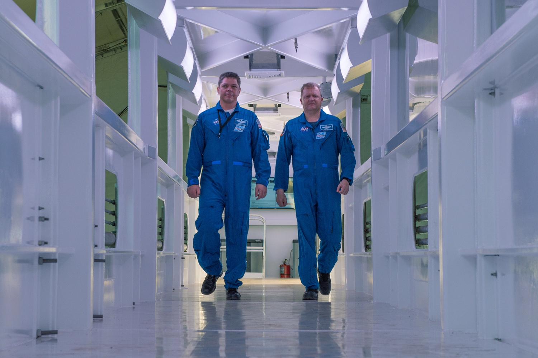 SpaceX CAA interior (NASA)