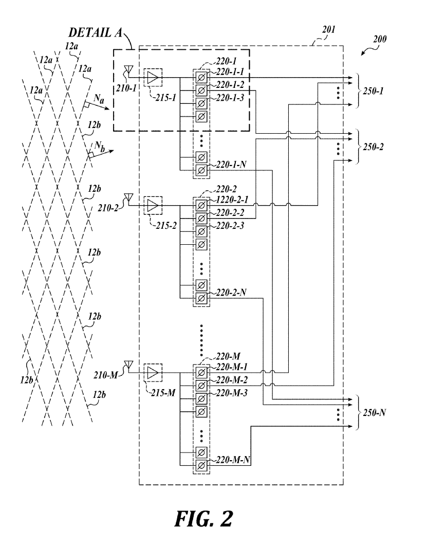 Starlink phased array patent – US – figures (8)