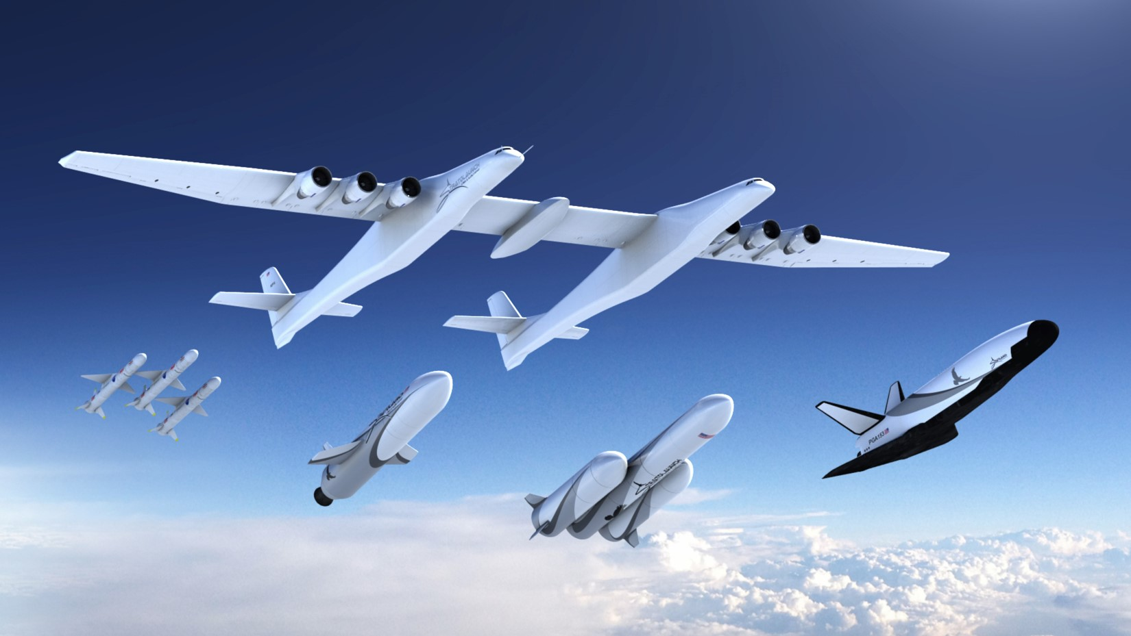 Stratolaunch rocket family (Stratolaunch)