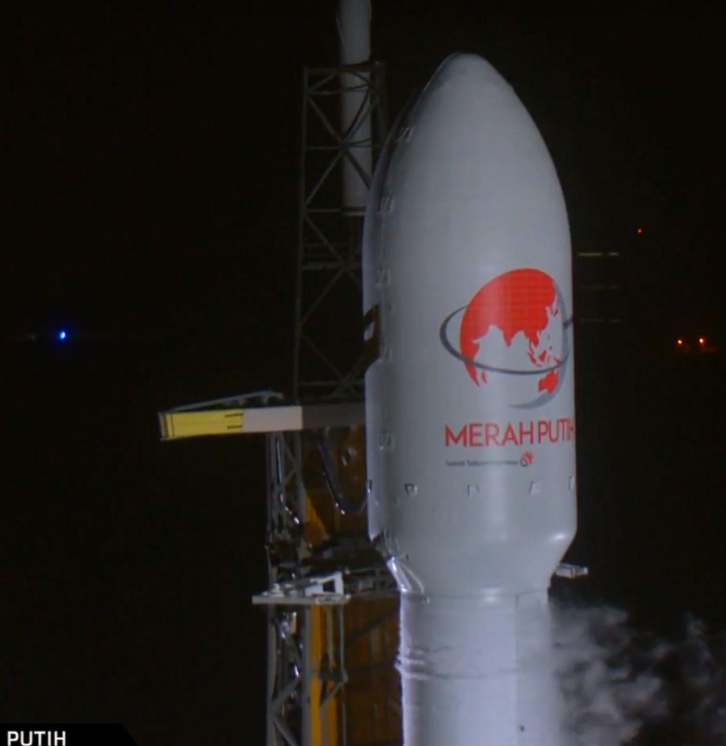 Telkom 4 B1046 webcast (SpaceX) 1