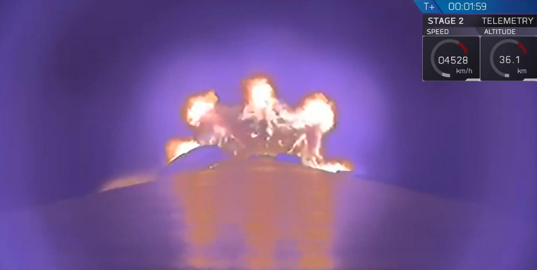 Telkom 4 B1046 webcast (SpaceX) 4