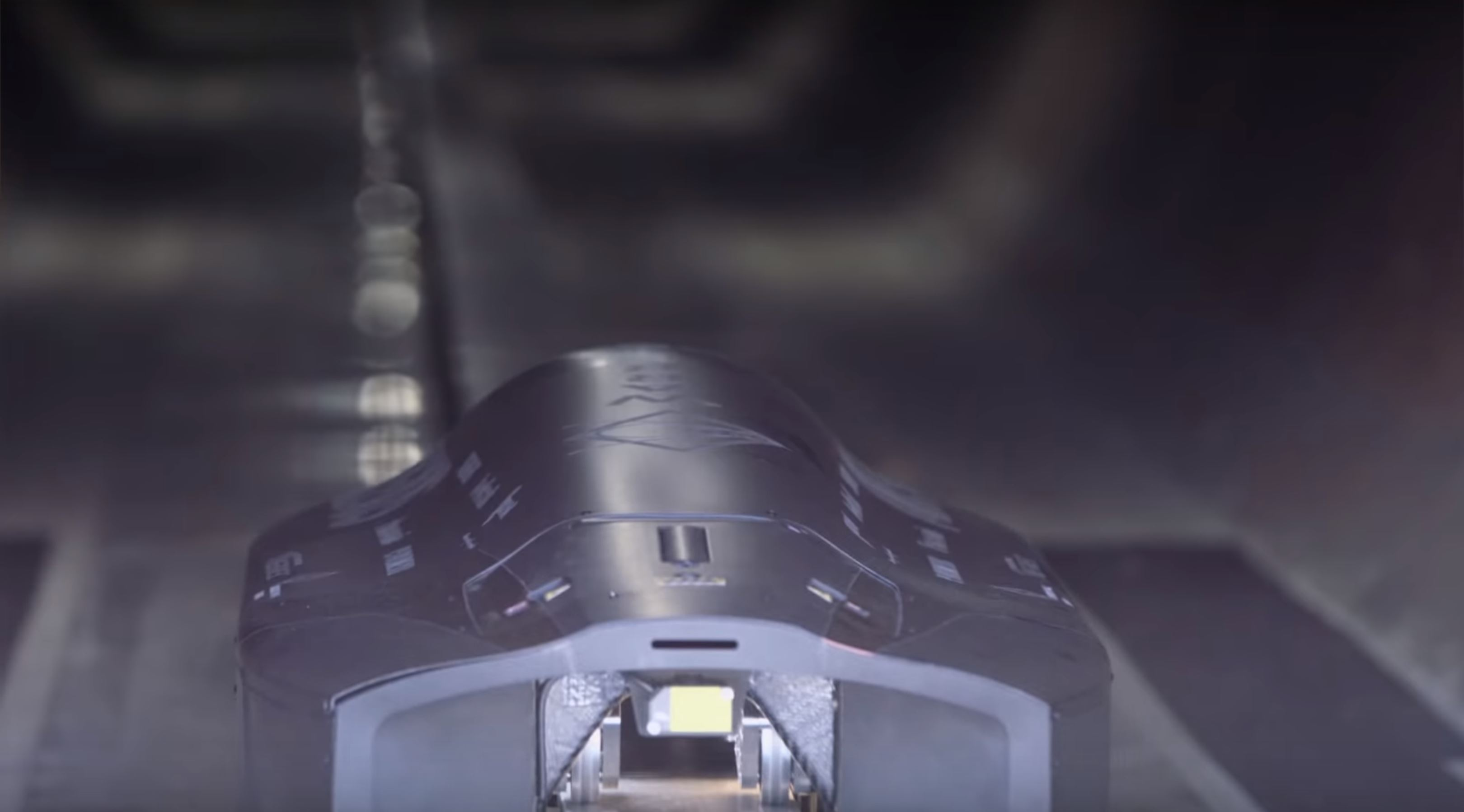 WARR Hyperloop pod (SpaceX) 1