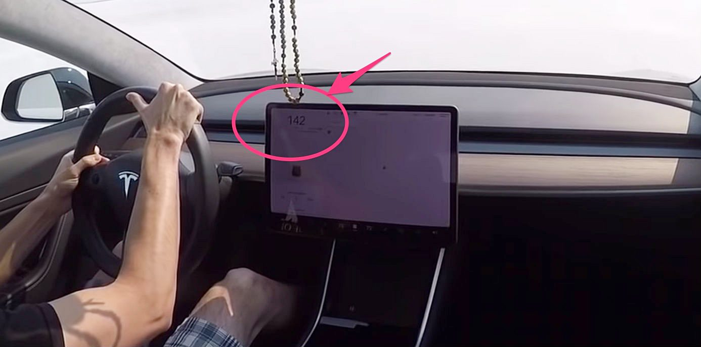 Tesla Model 3 Rwd Hits 142 Mph In Top Speed Test At