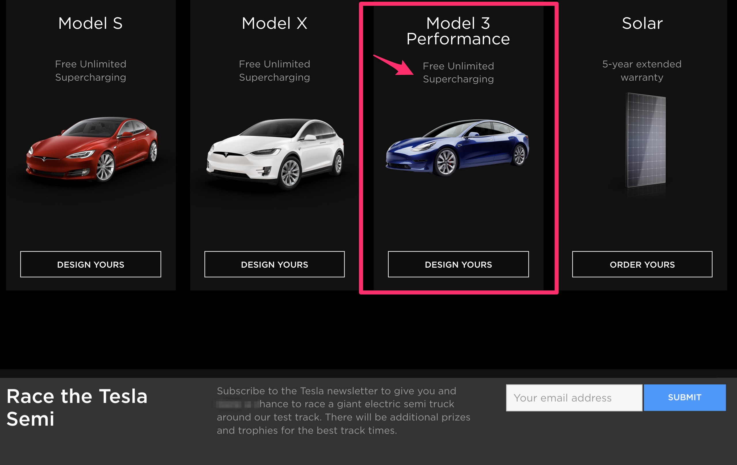 Tesla offers Model 3 Performance buyers free unlimited ...