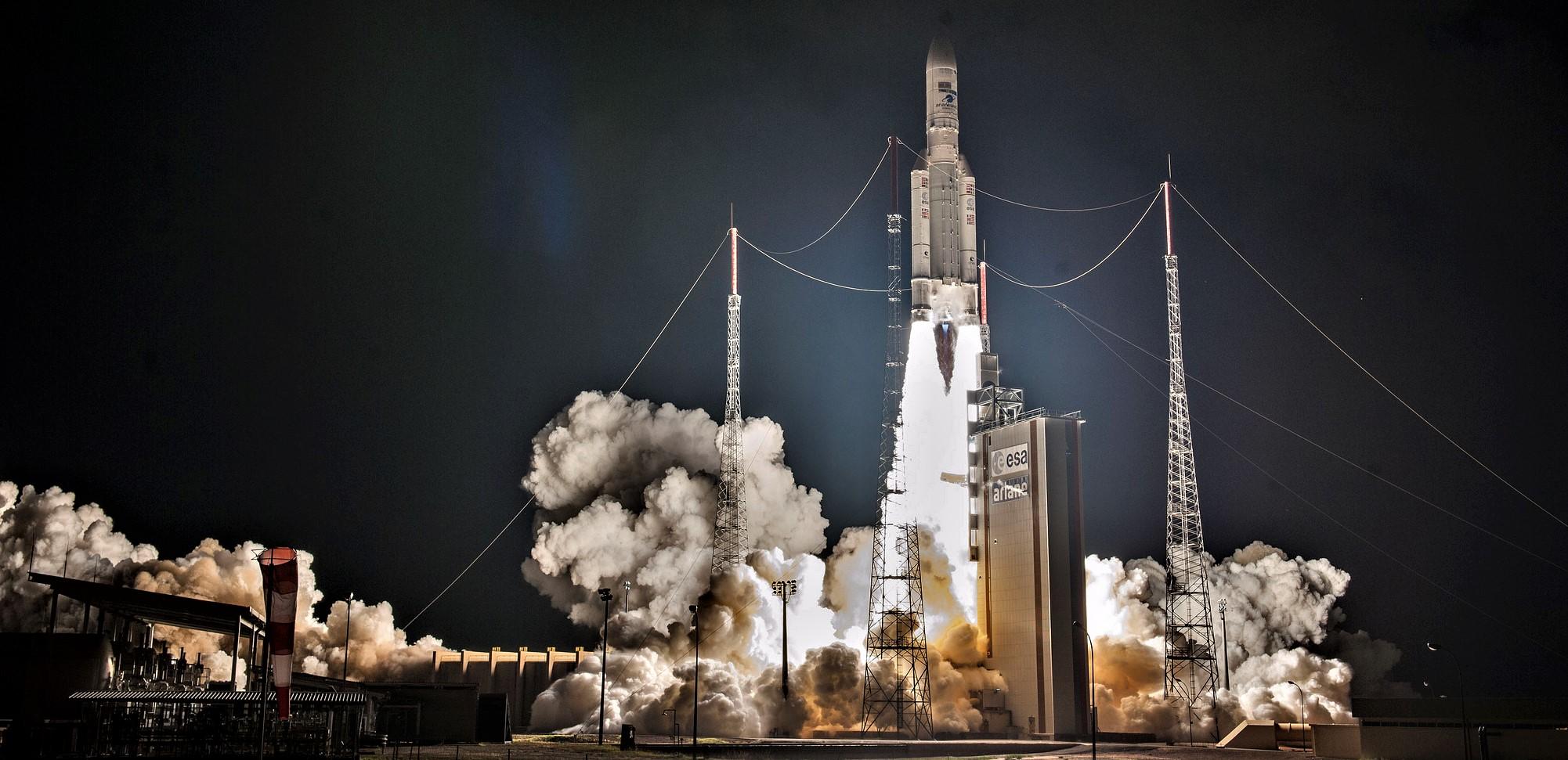 Ariane 5 100th successful launch VA243 (CNES)