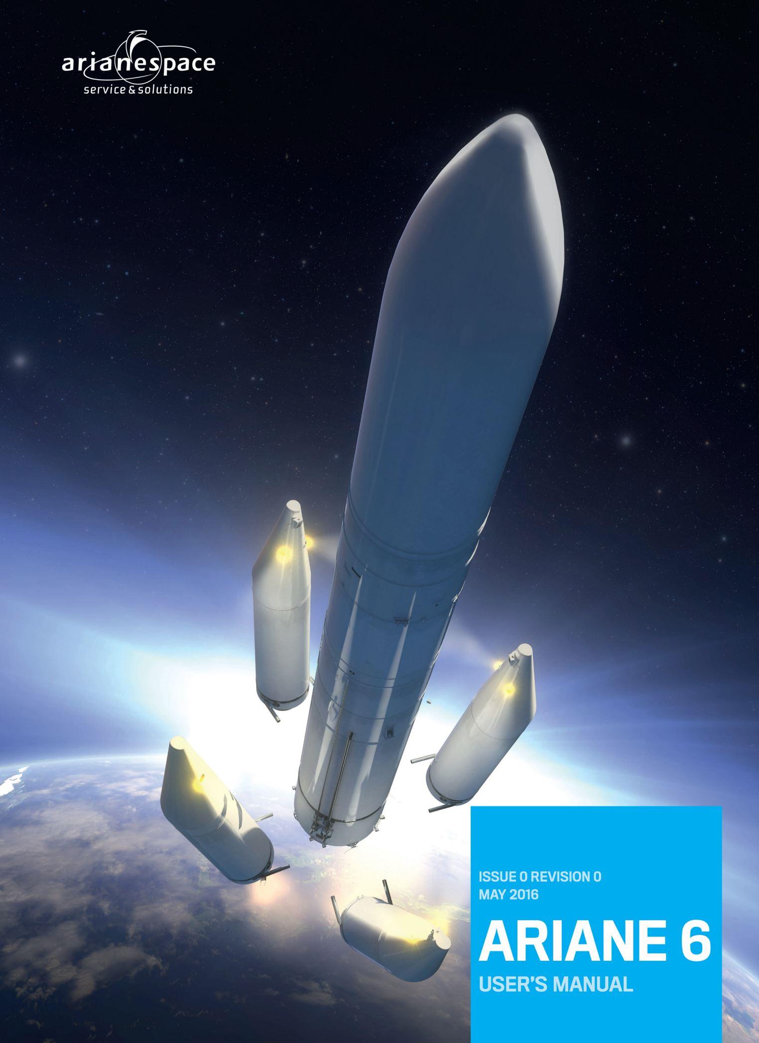 Ariane 6 launch render (Arianespace)