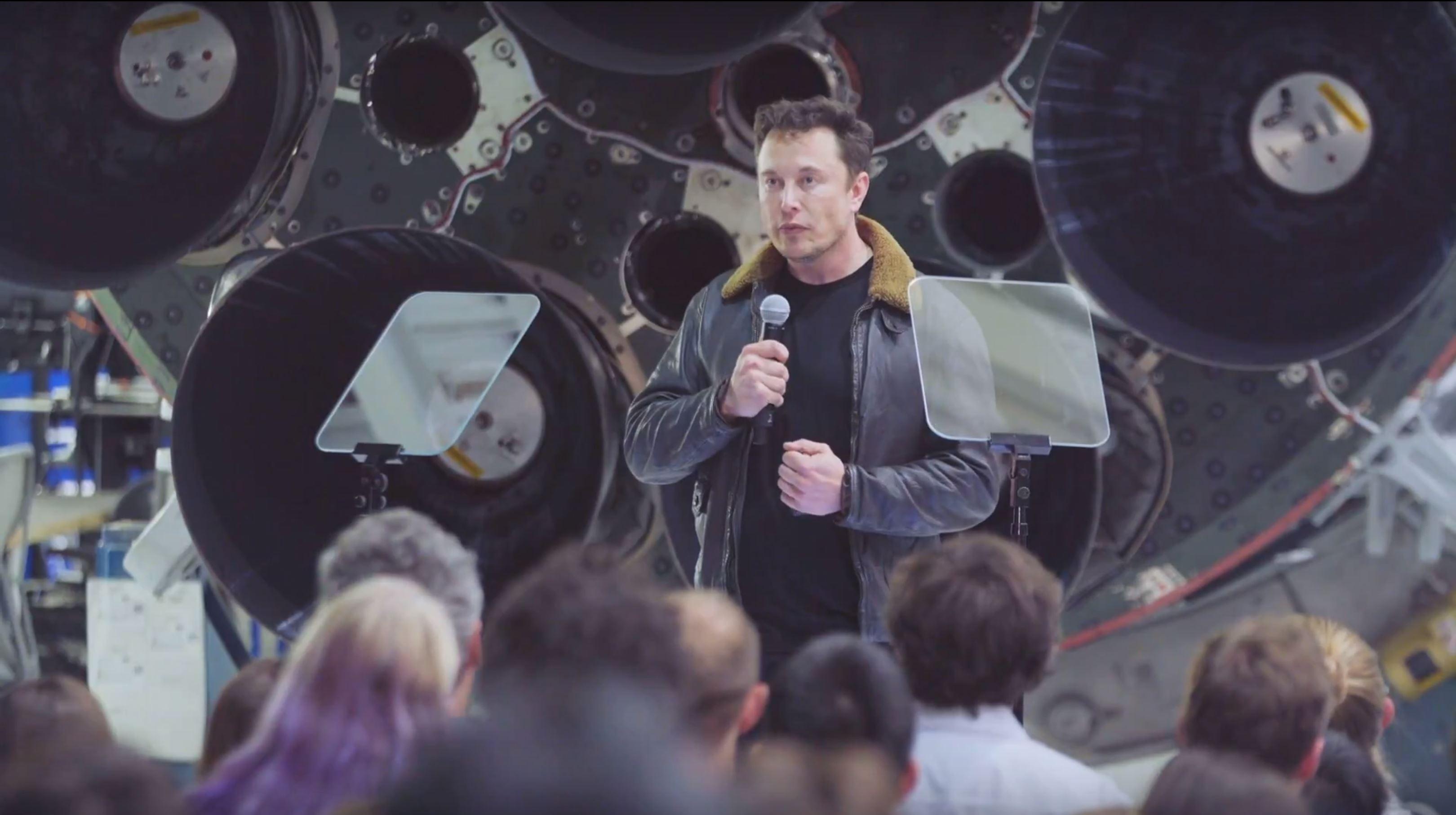 BFR 2018 event Elon Musk (SpaceX) 2