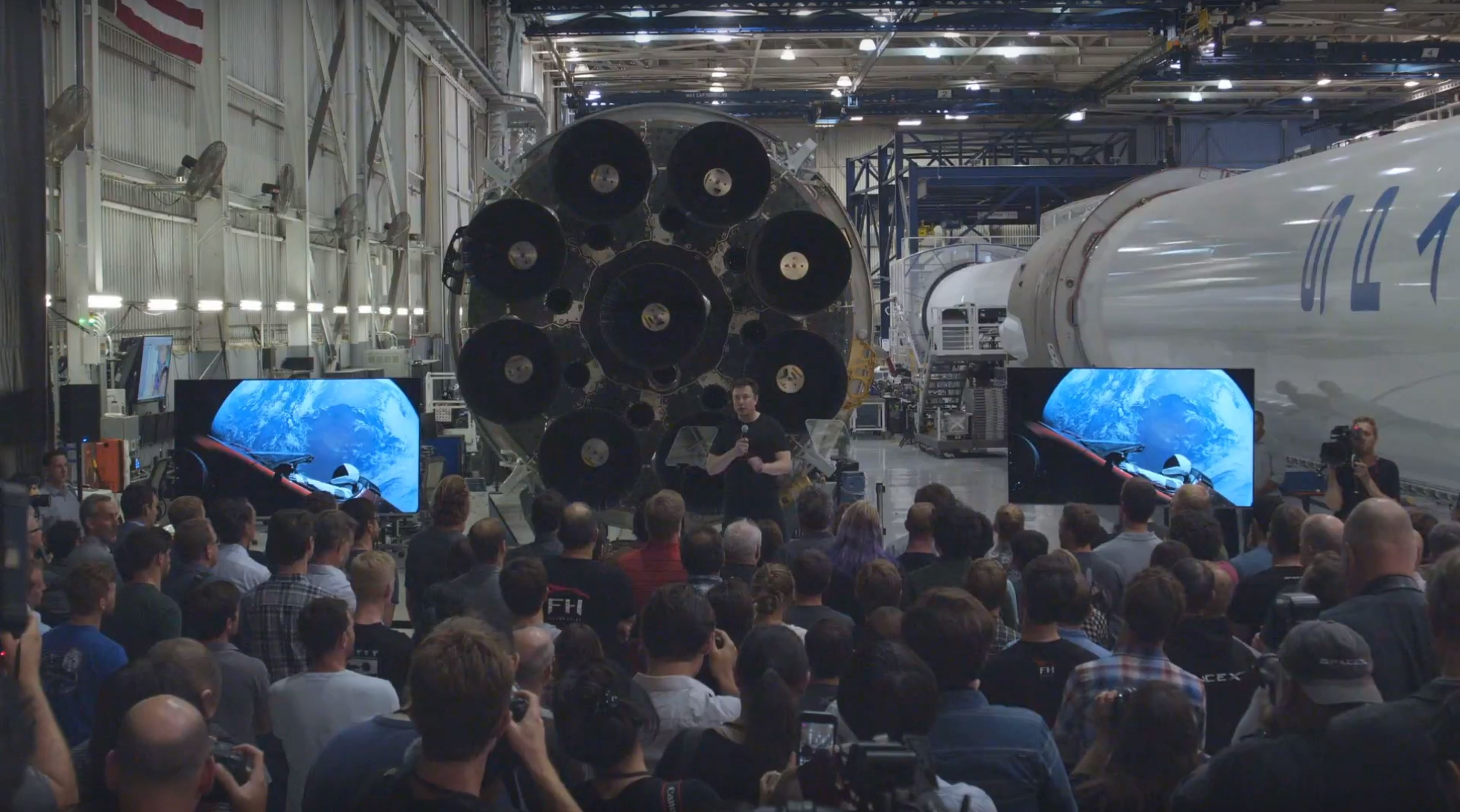 BFR 2018 event Elon Musk (SpaceX) 3