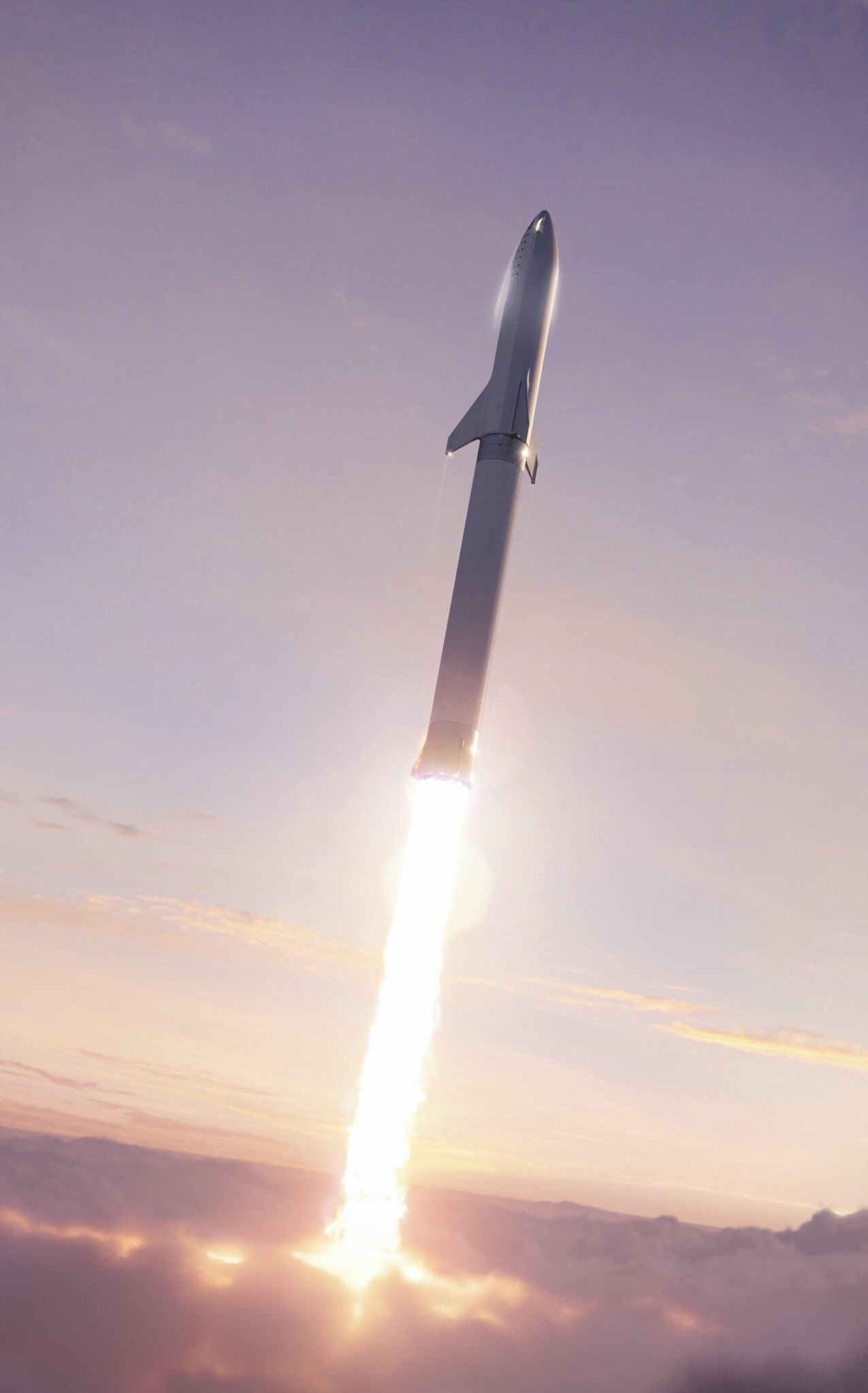 BFR 2018 launch (SpaceX) 2
