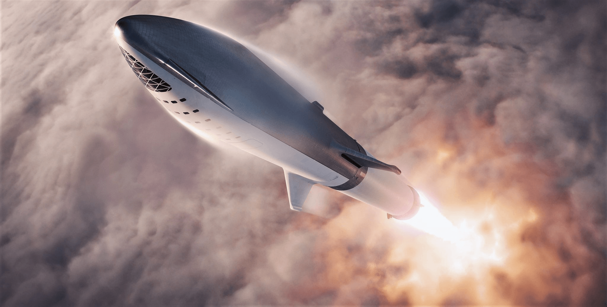 Spacex Ceo Elon Musk Teases Bfr Update With New Rocket Launch Renders