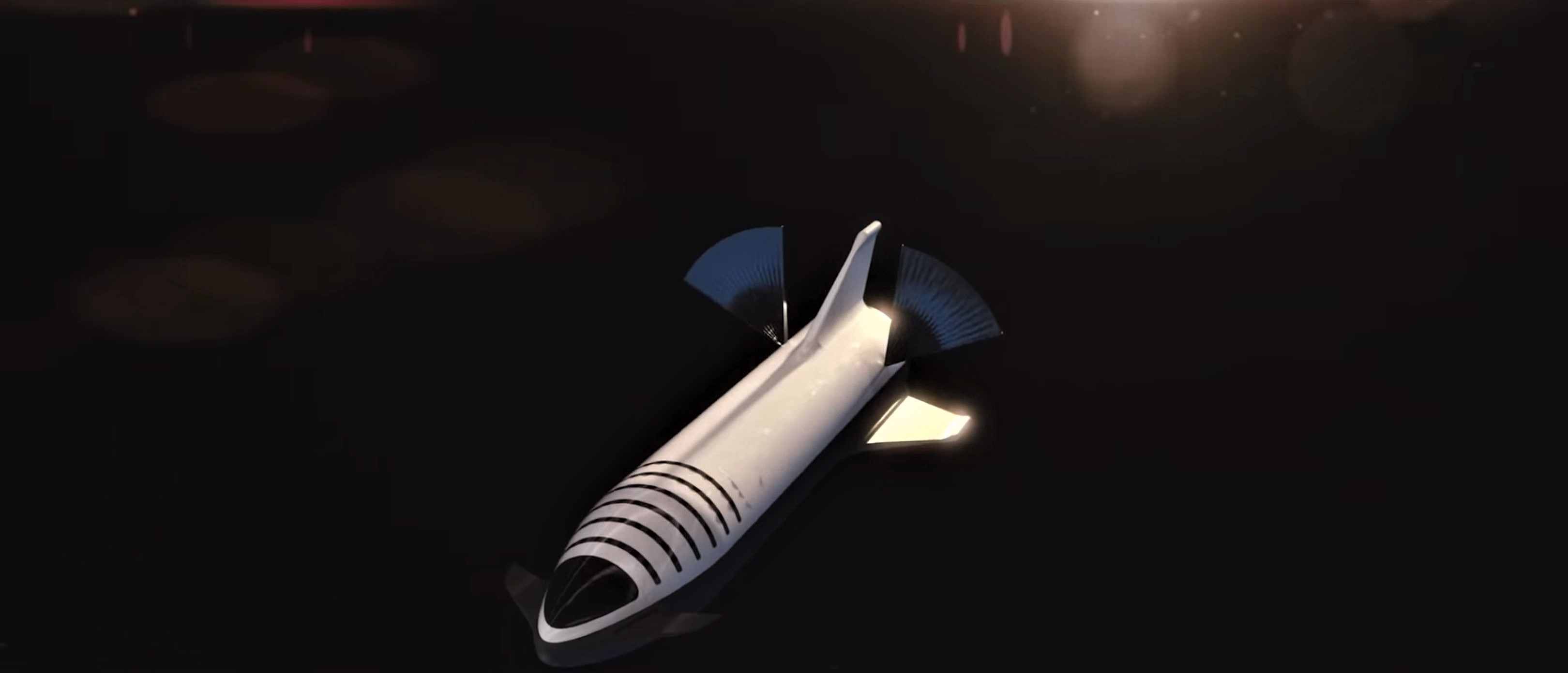 BFR 2018 launch render (SpaceX) 11