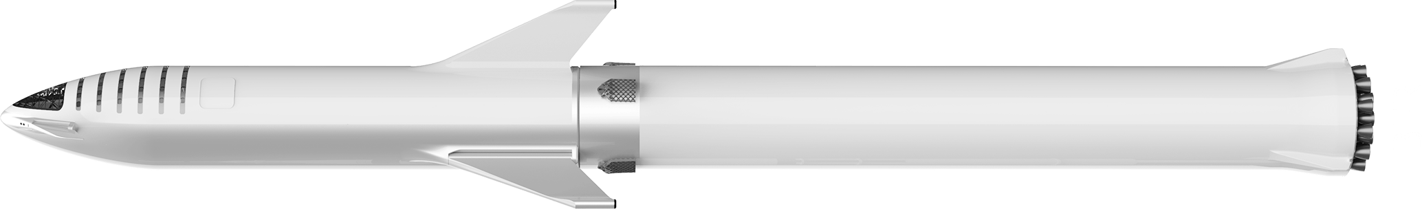 BFR booster and spaceship overview (SpaceX)