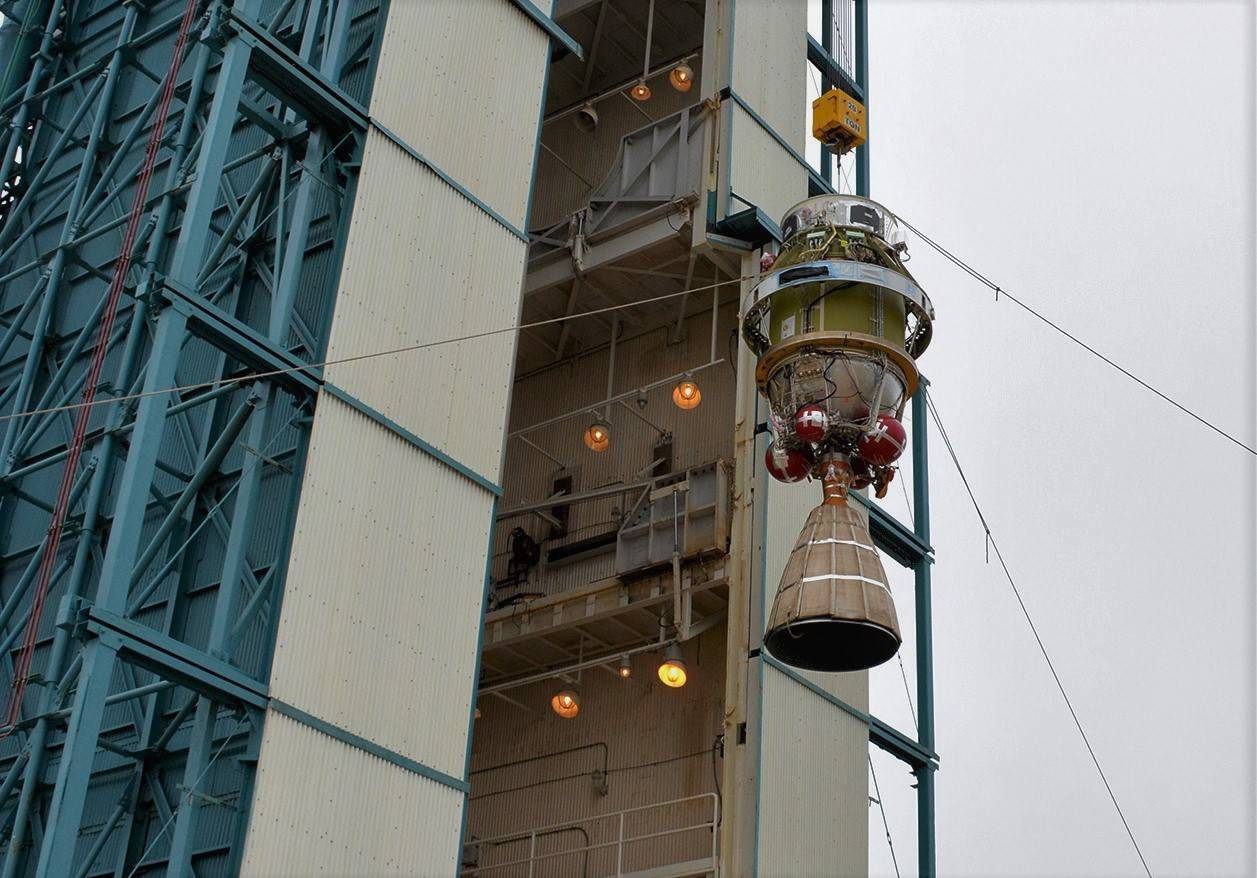 Delta II ICESat-2 upper stage (NASA)