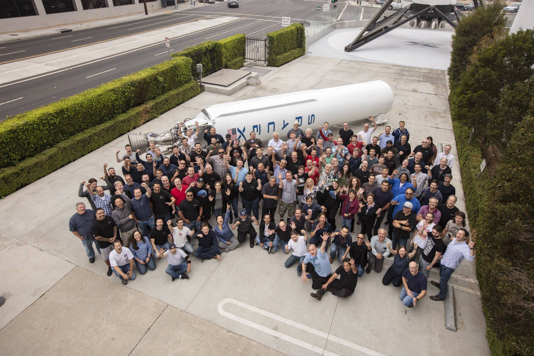 Falcon 1 Flight 4 10 year anniversary (SpaceX) 1