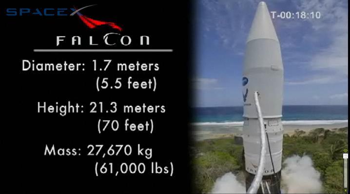 Falcon 1 Flight 4 webcast (SpaceX) 1