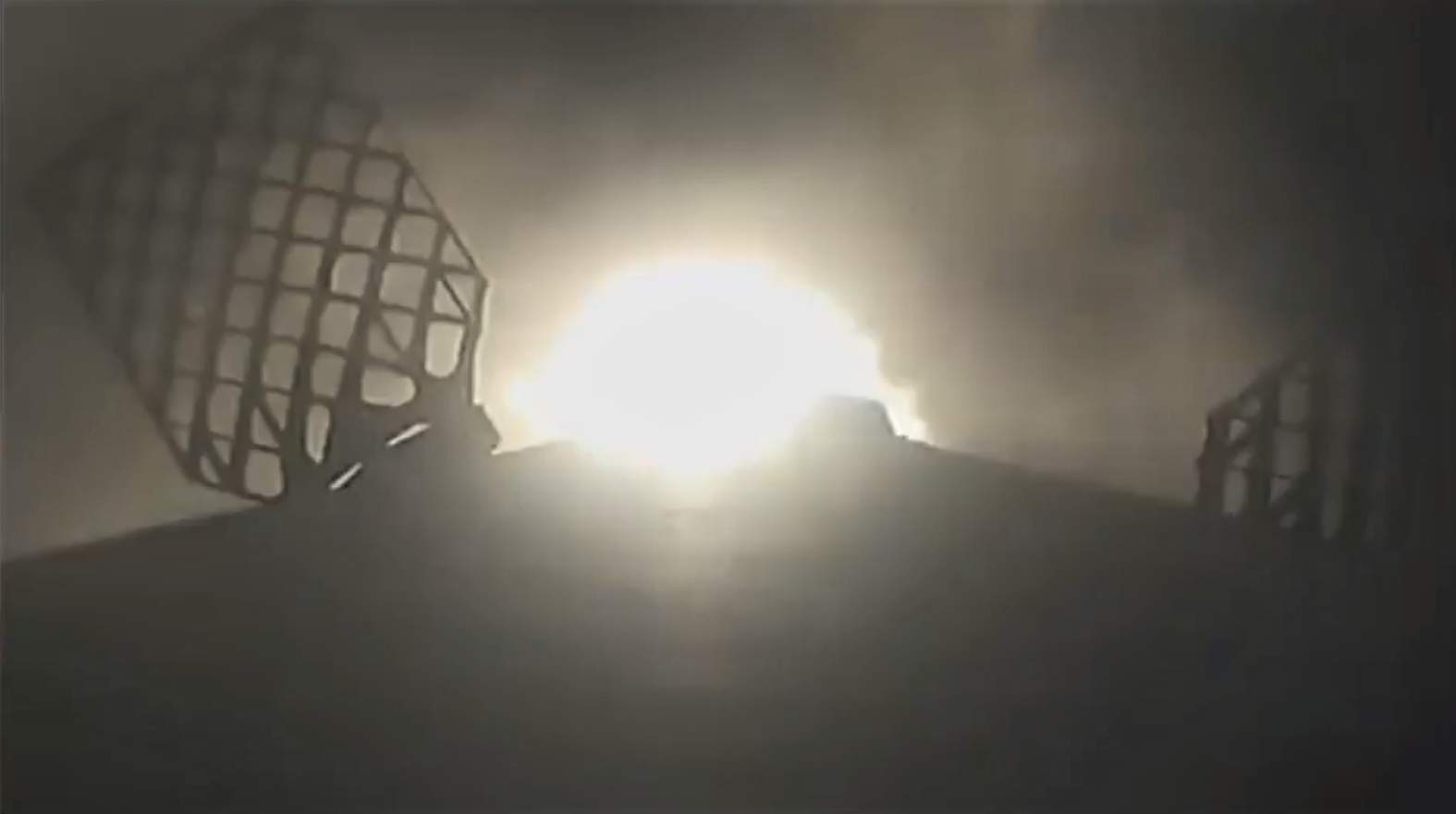 Falcon 9 B1049 reentry burn (SpaceX) 1