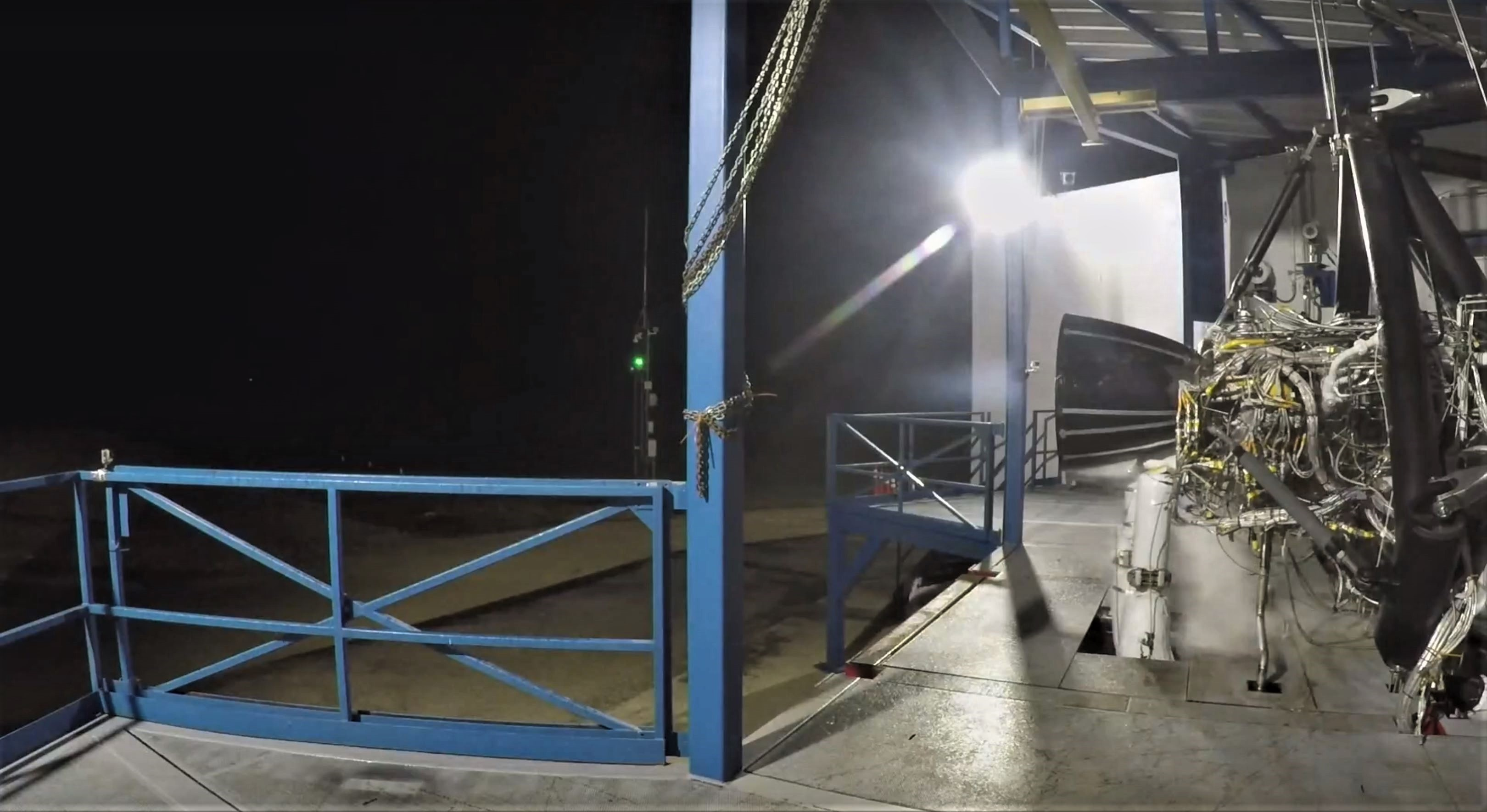 Raptor testing 2018 (SpaceX) gif 1