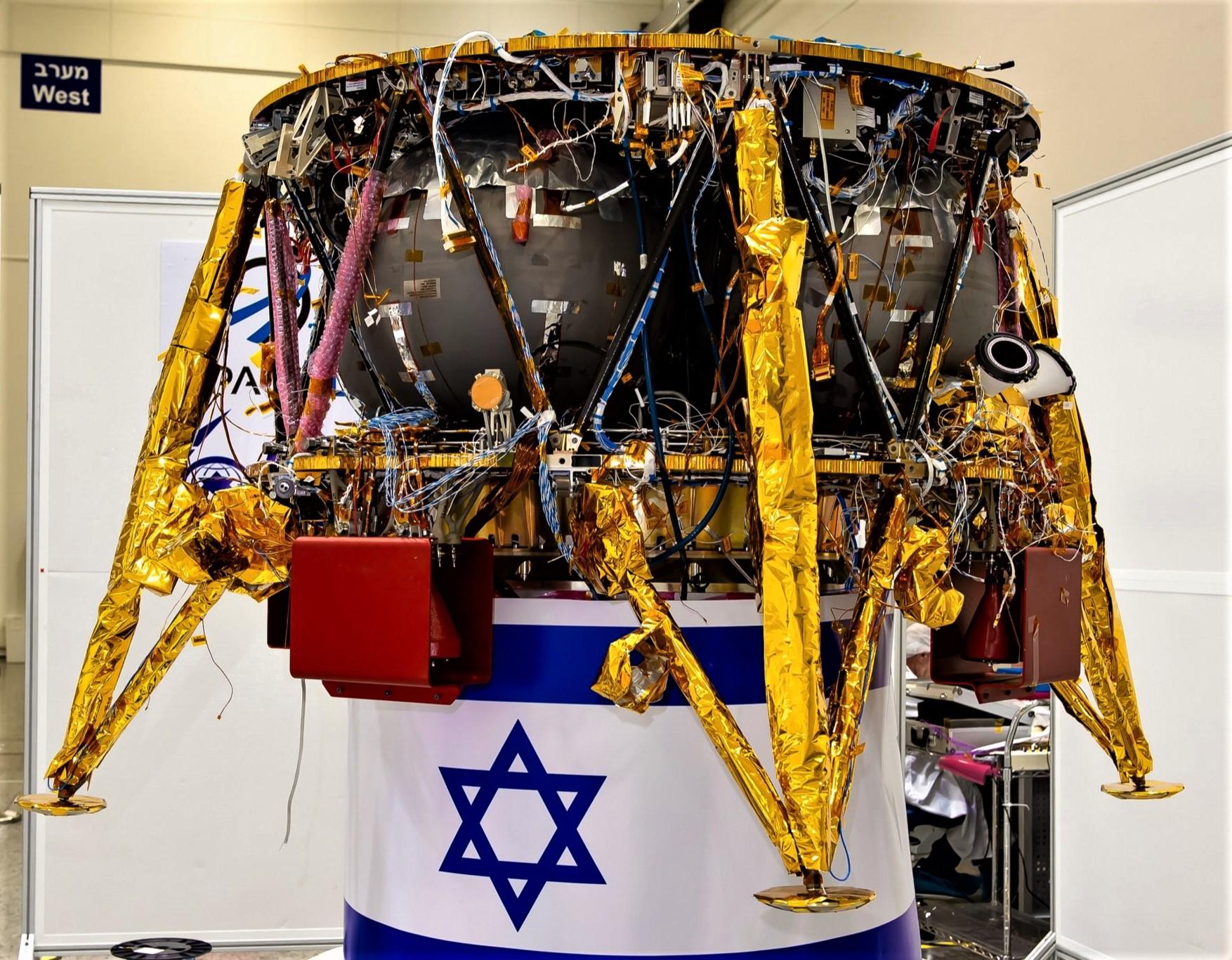 Sparrow lunar lander nears launch readiness (SpaceIL)