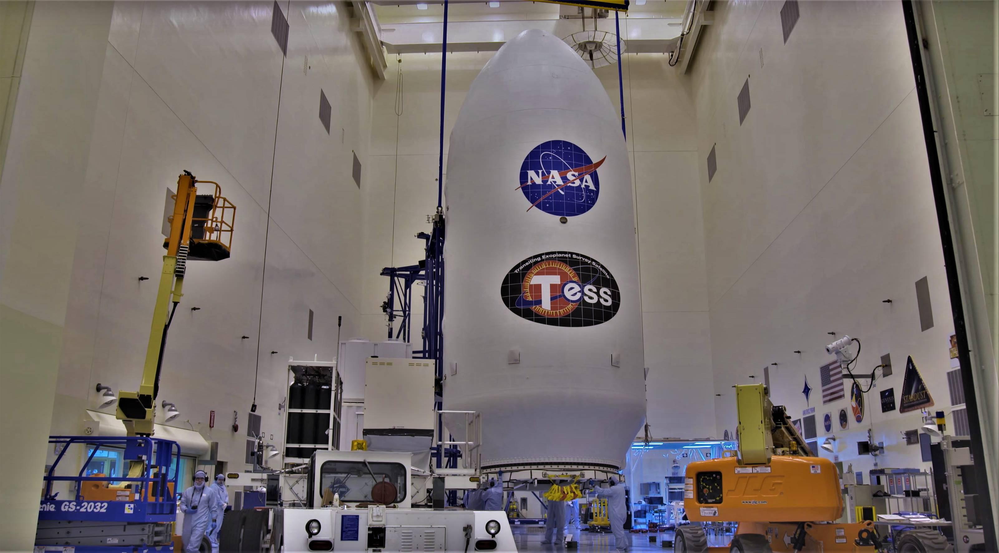 TESS Falcon 9 fairing (NASA) 25(c)