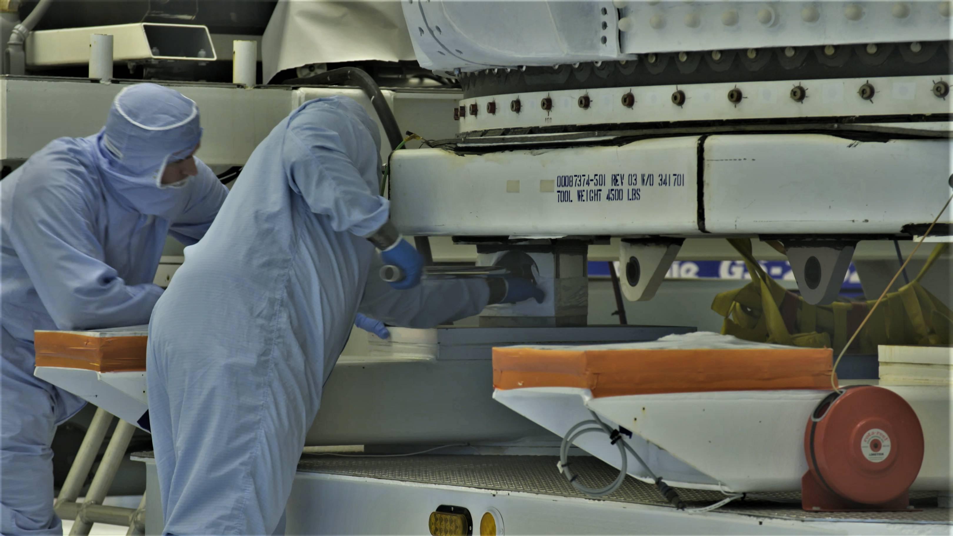 TESS Falcon 9 fairing (NASA) 27(c)