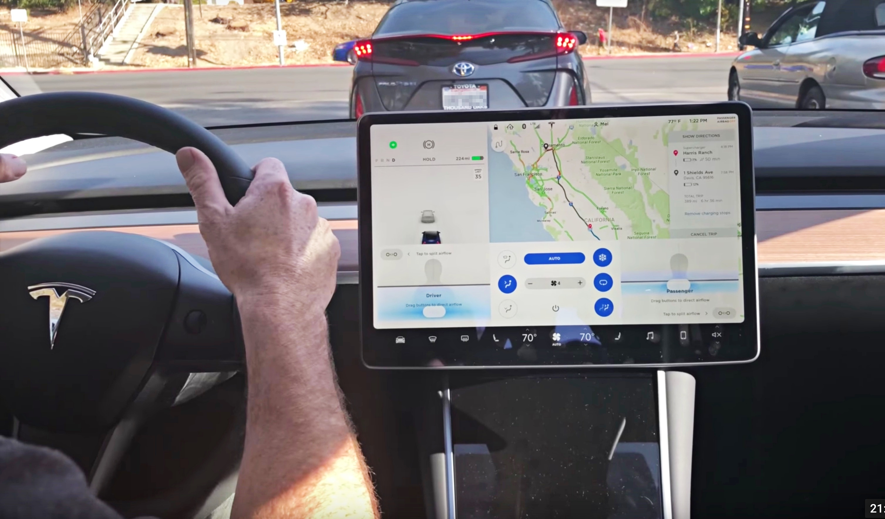 Tesla's dashcam feature using Autopilot cameras is in final