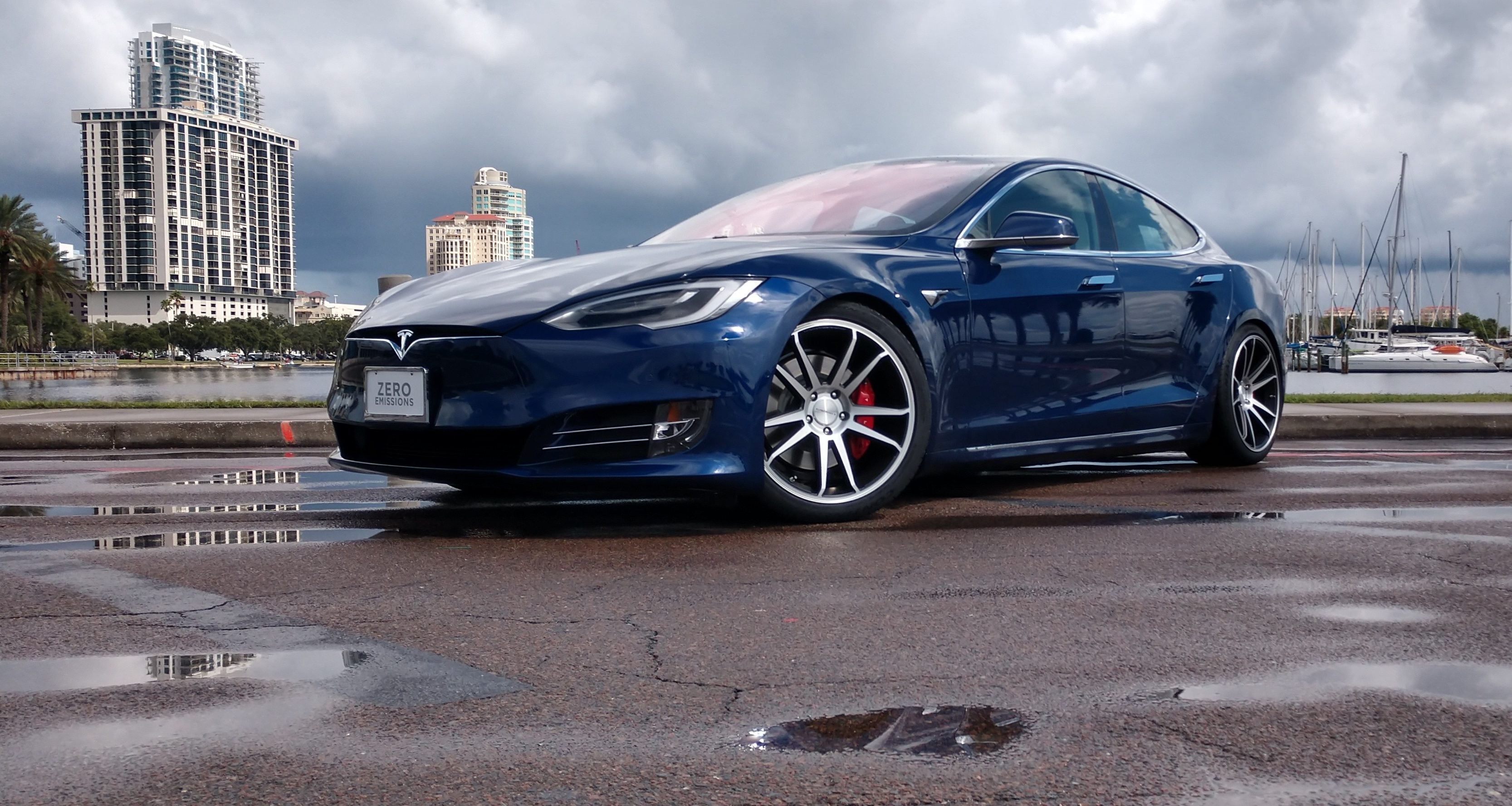 Dream Giveaway's Tesla Model S P100D promotion helps