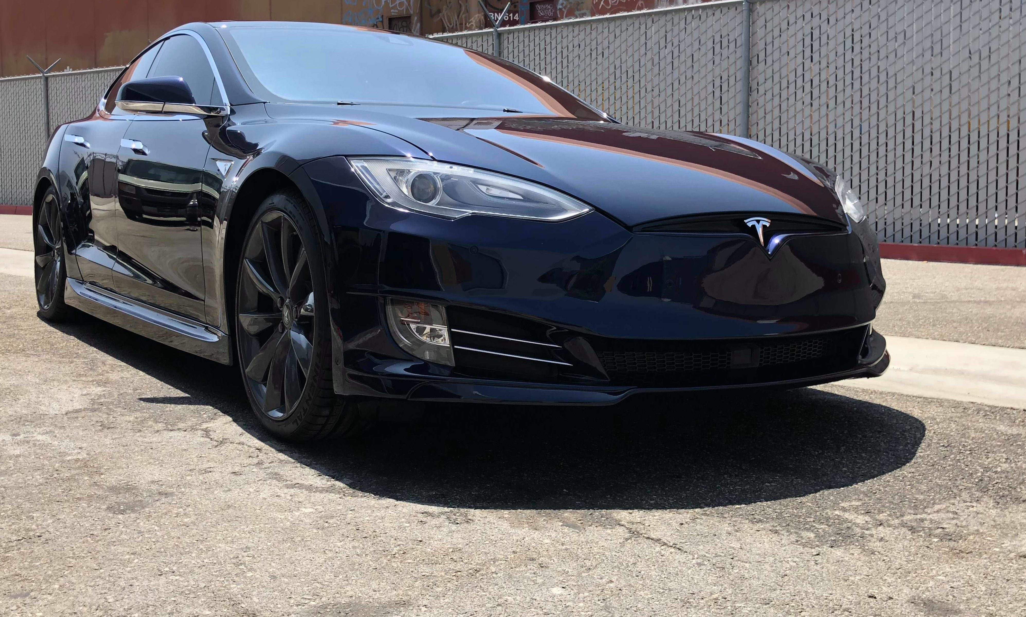 Tesla Model S Aftermarket Project Highlights Nba Icon Attachment To His Electric Car