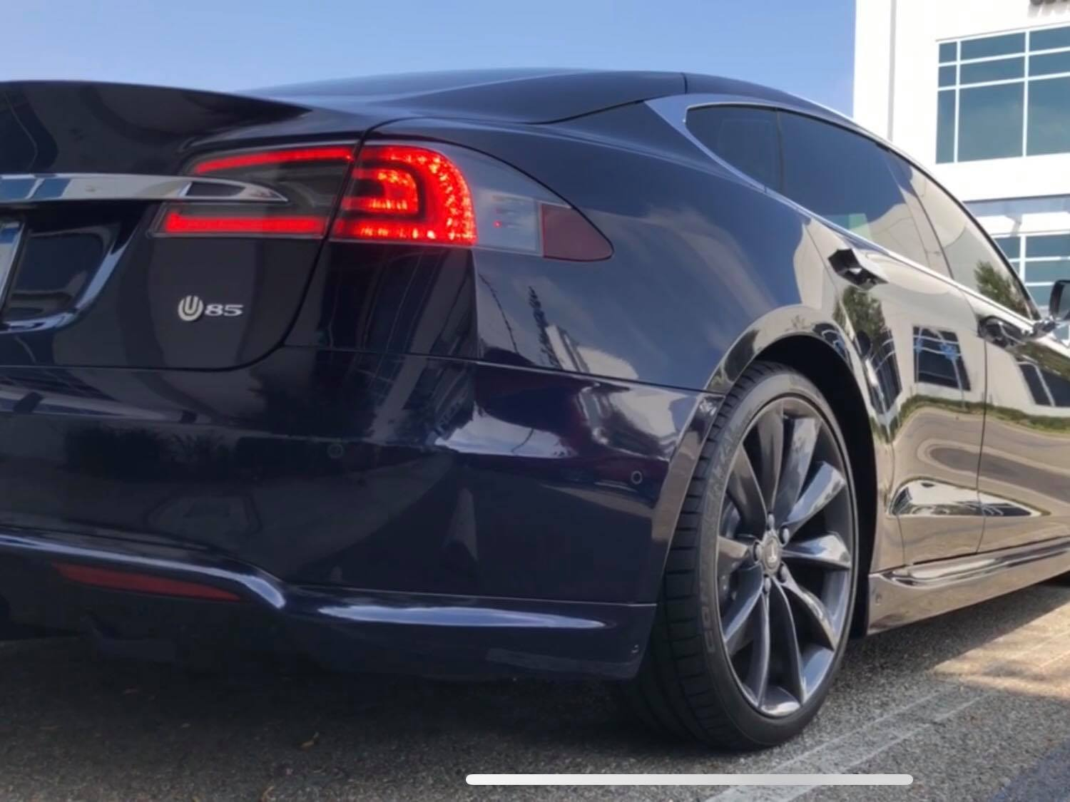 Tesla Model S aftermarket project highlights NBA icon's