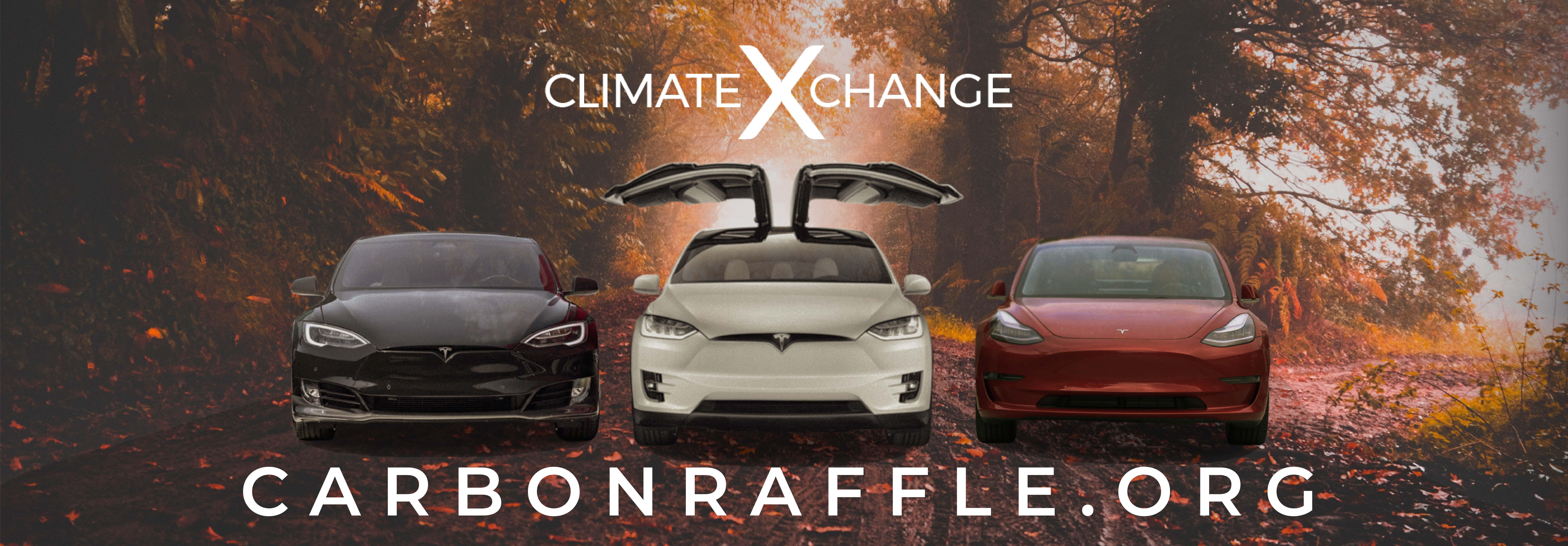 Autumnal 3 Teslas Banner Ad 10.17.2018