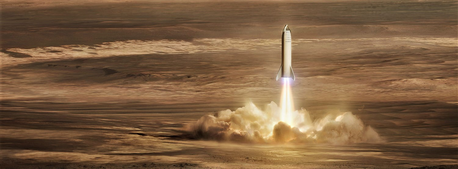 BFR 2018 Mars landing (SpaceX) crop
