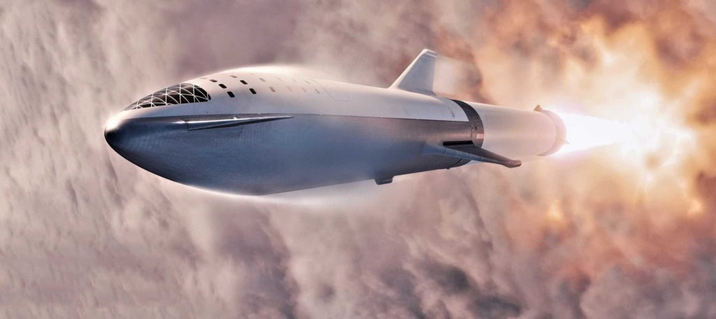 """SpaceX CEO Elon Musk teases new Starship photos and """"heavy metal"""" BFR"""