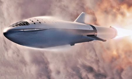 According to CEO Elon Musk, SpaceX will share new photos of BFR's Starship upper stage in January and begin booster production as early as next spring. (SpaceX)