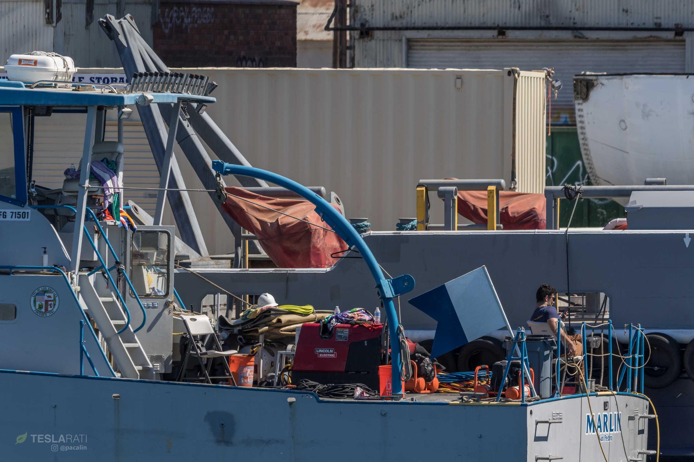 Berth 240 Marlin utility boat (Pauline Acalin)(c)