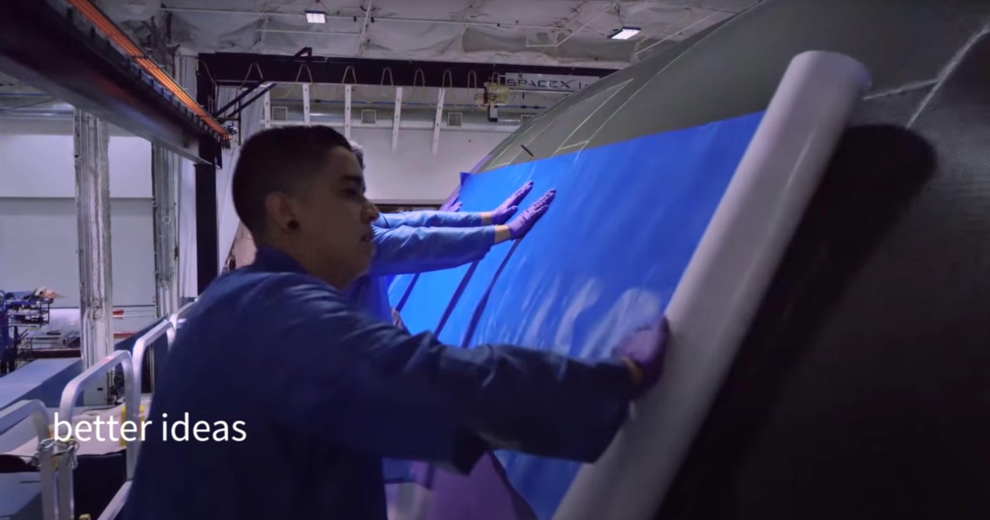 F9 fairing layup 2018 (SpaceX) 1