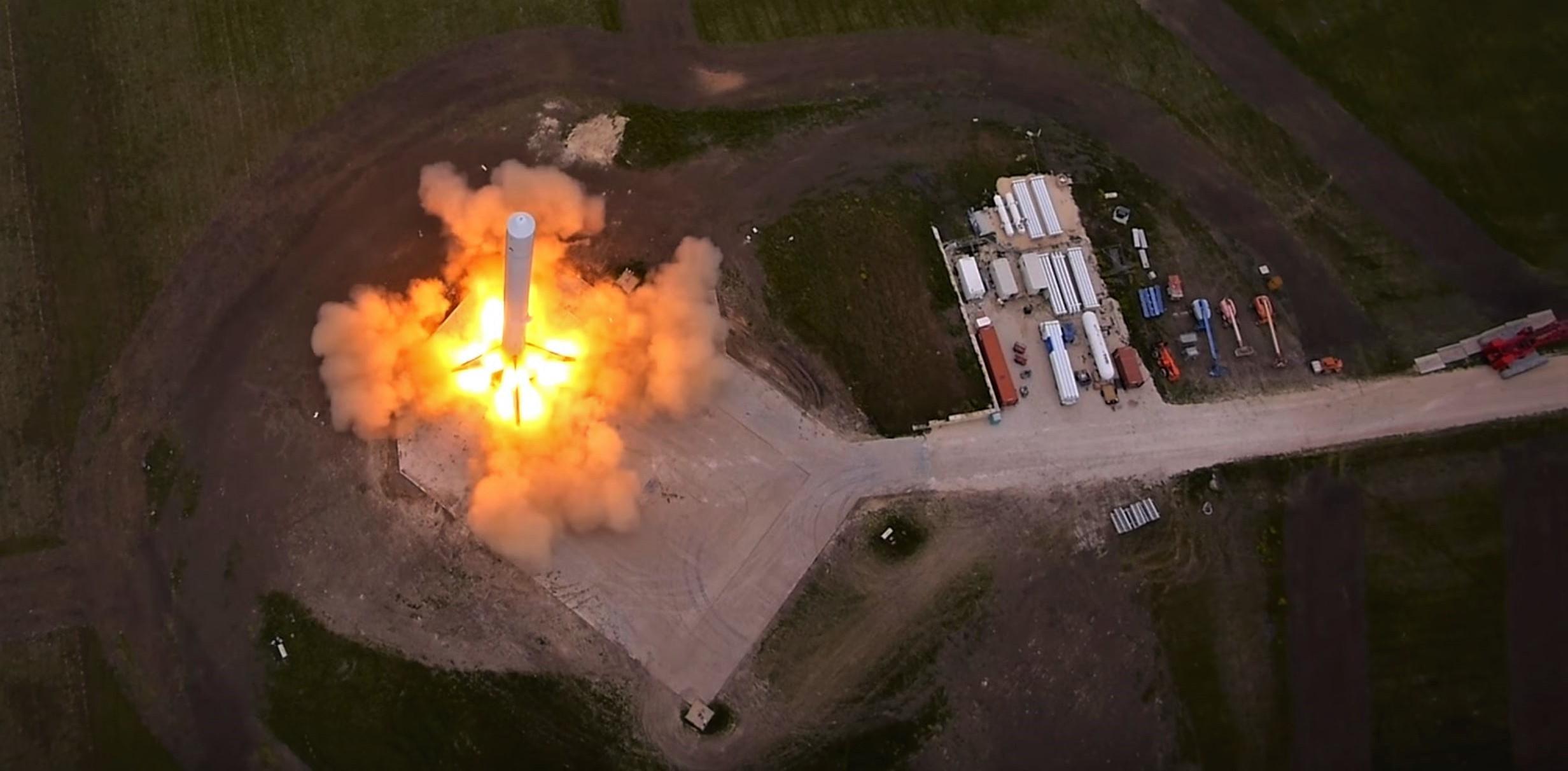 F9R pad 2014 (SpaceX)