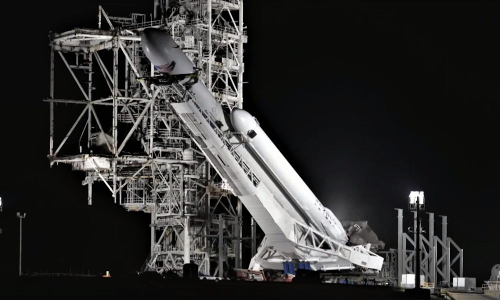 SpaceX's first government Falcon Heavy launch aiming for ...