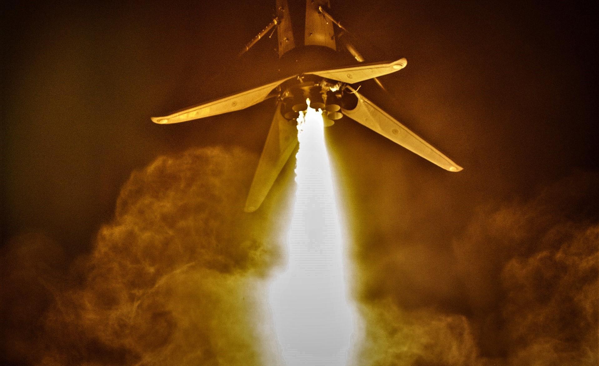 SAOCOM 1A B1048 landing (SpaceX) 1 edit 2
