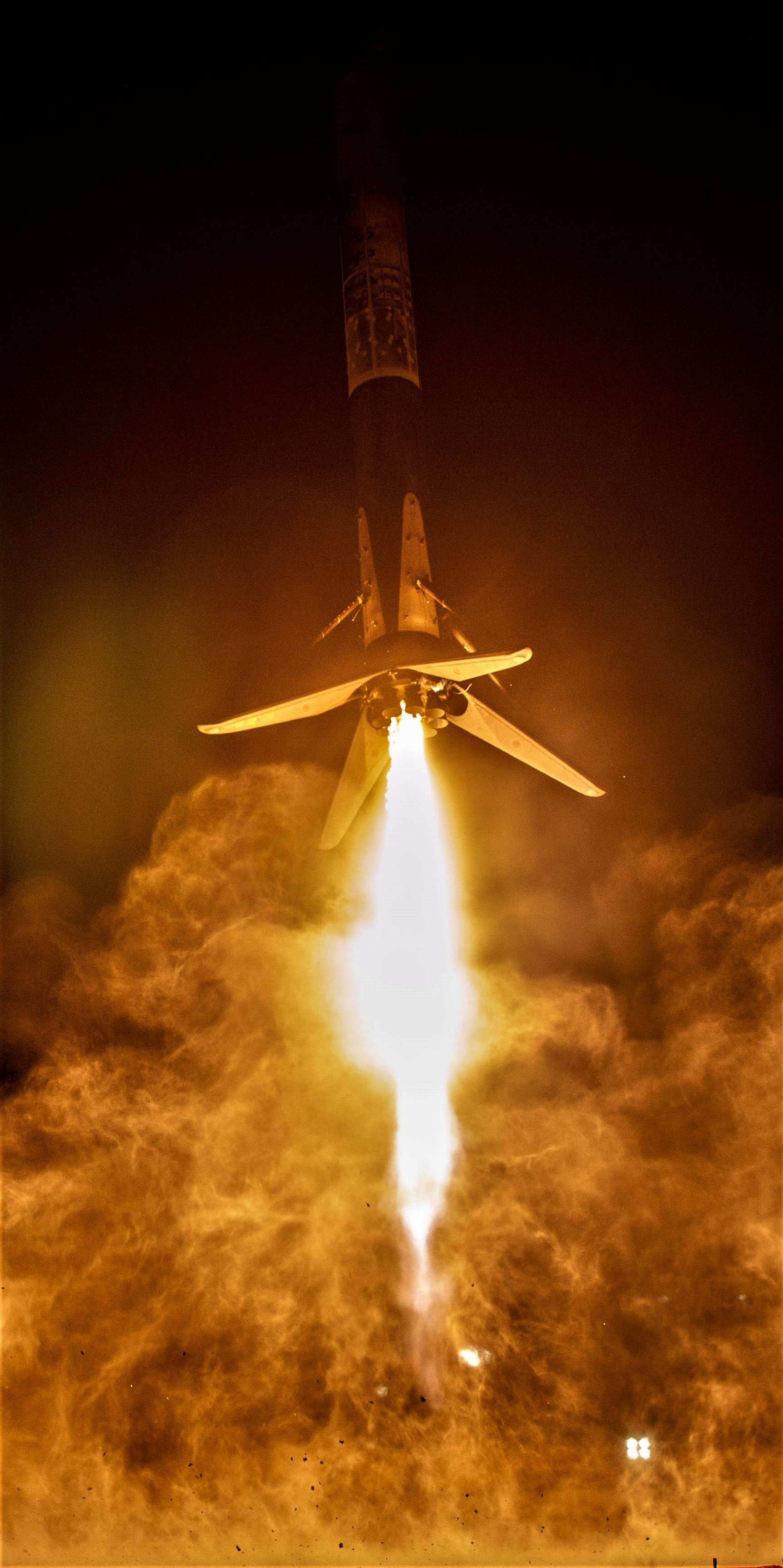 SAOCOM 1A B1048 landing (SpaceX) 1 edit(c)