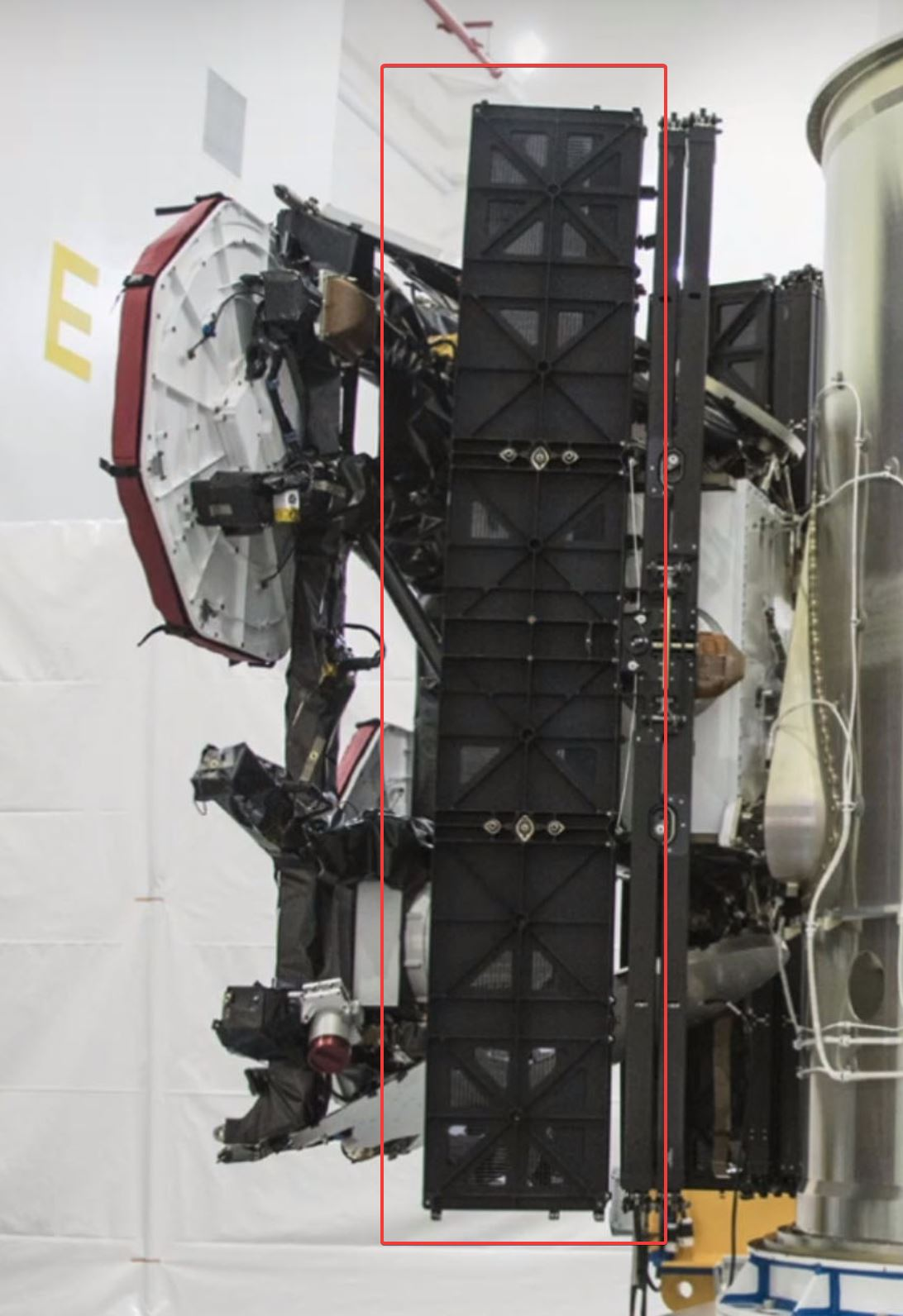 Spacexs Starlink Satellites May Use Unique Solar Array Deployment Champion Ultrastar Wiring Diagram Unlike Any Discernible Panel Mechanism With A Flight History Engineers Seem To Have Taken Style Of Used