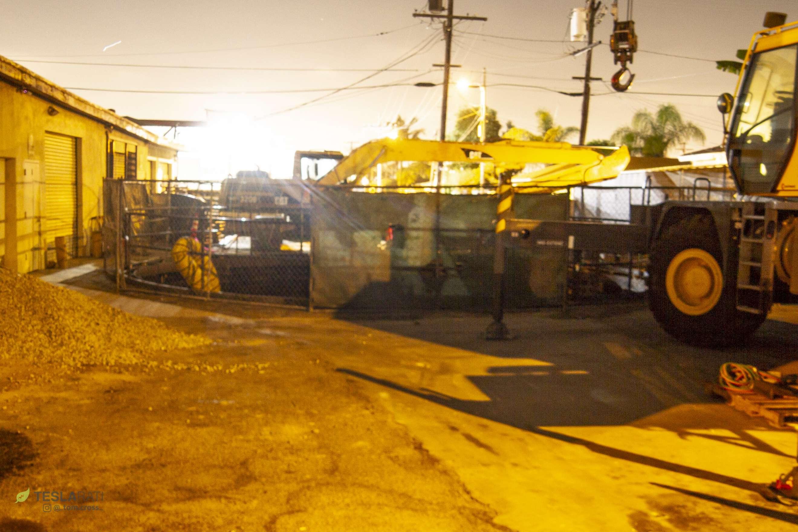 TBC garage and TBM exit site (Tom Cross) 2(c)