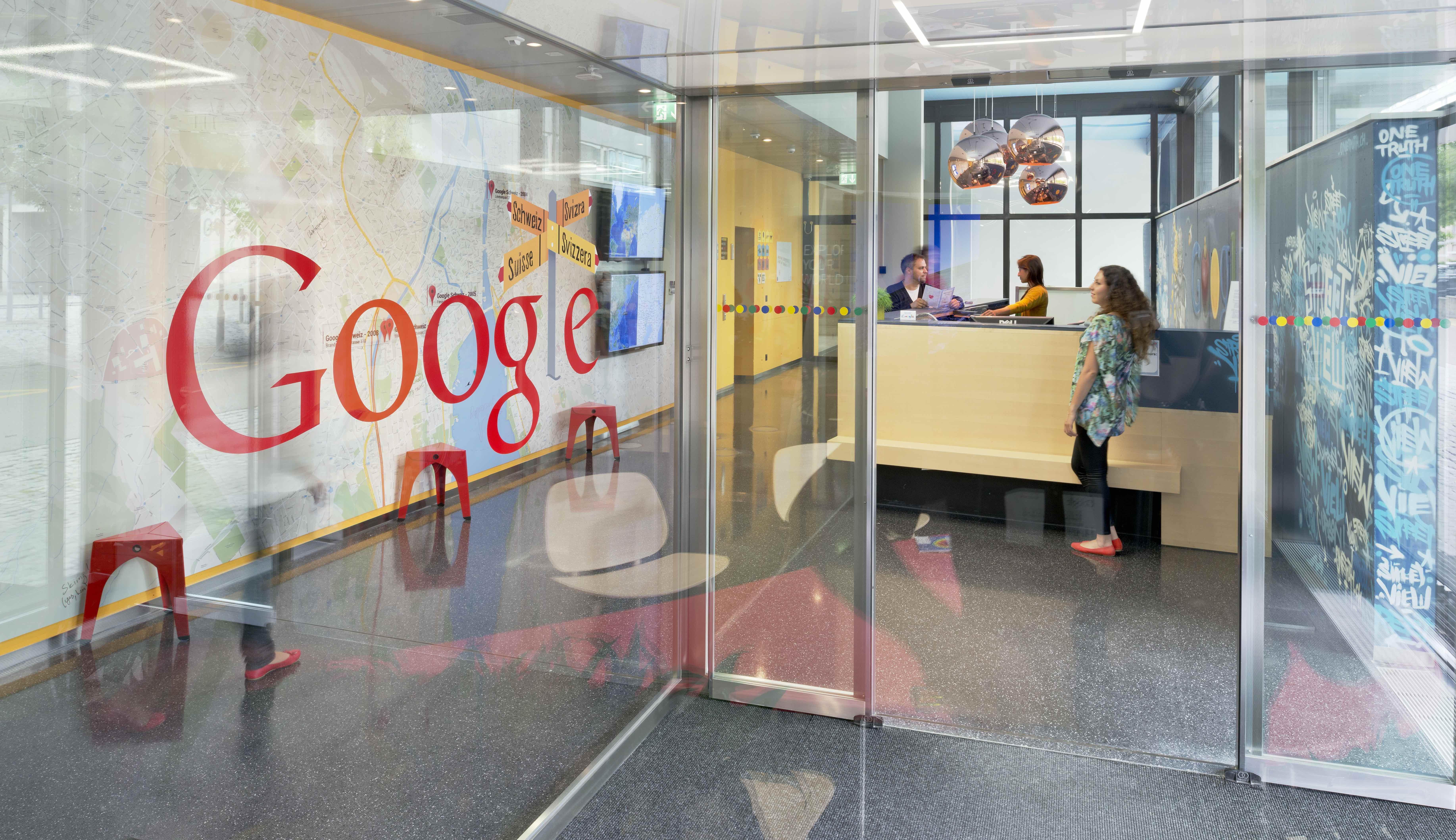 google-entrance-zurich-office