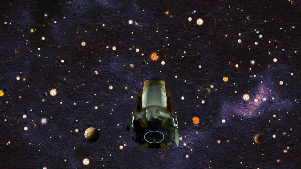 Kepler finds other worlds.