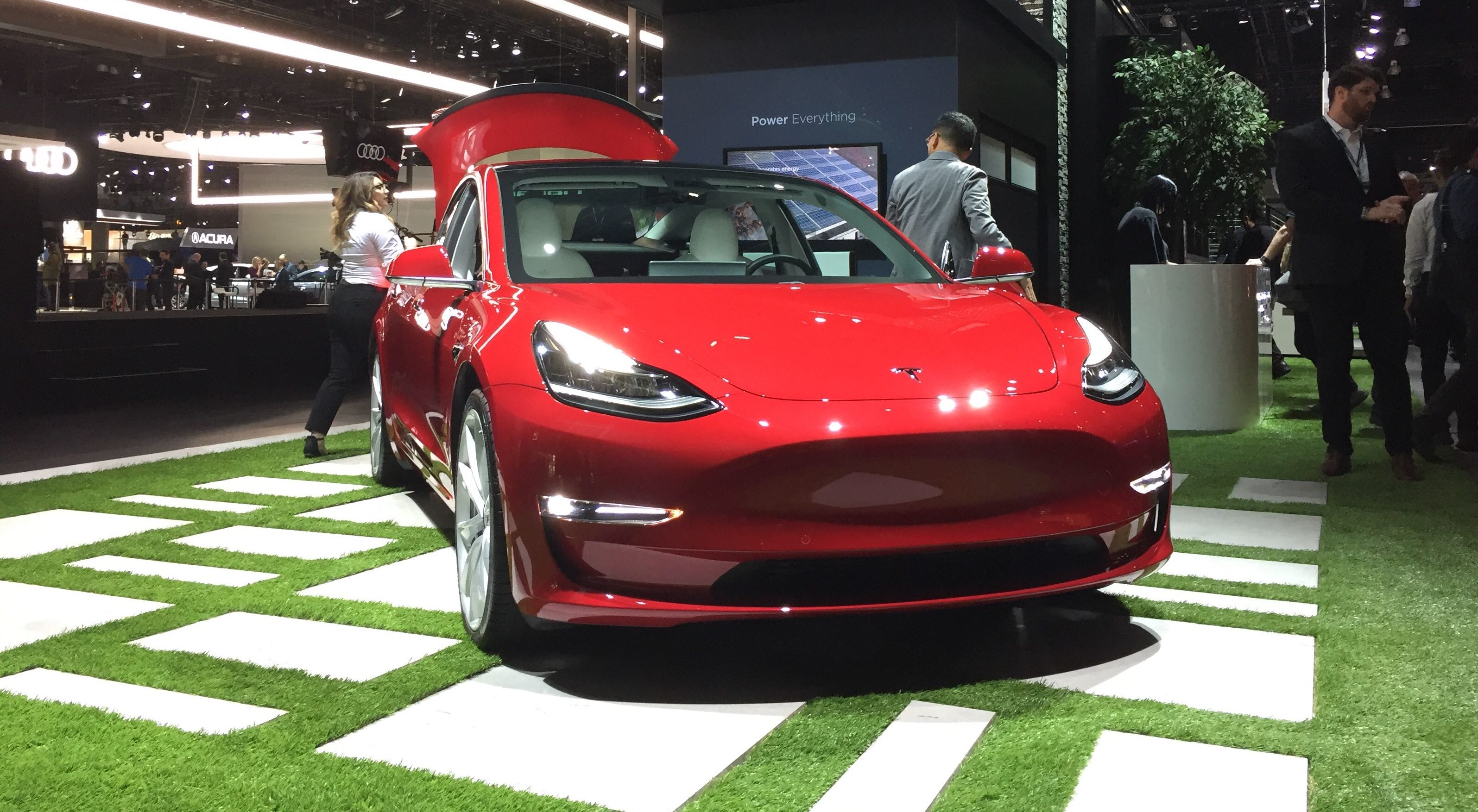 Tesla Model 3 Recognized As The United States Best Selling Luxury