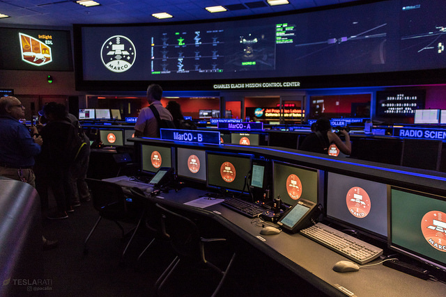 MarCO Mission Control.