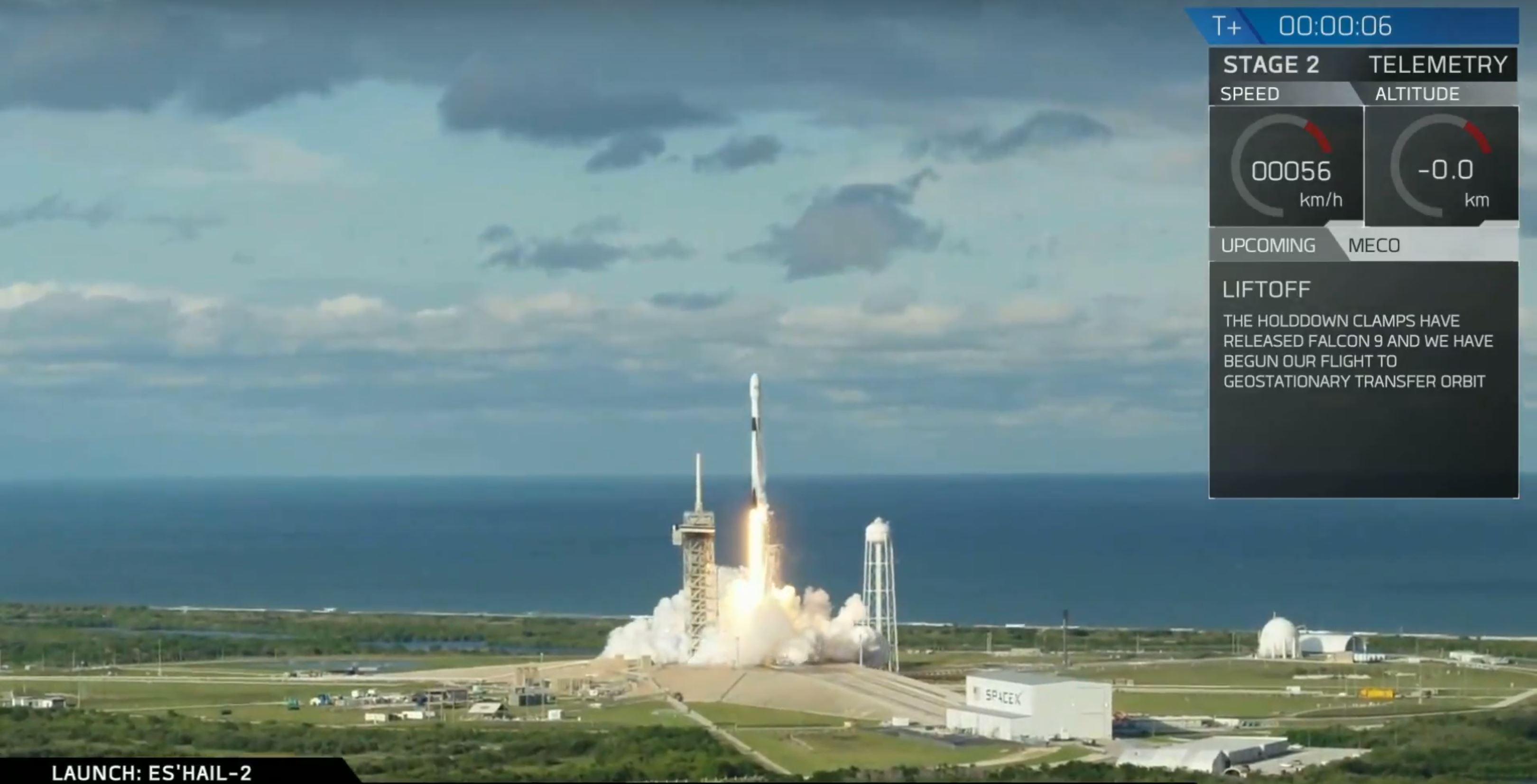 B1047.2 liftoff (SpaceX)