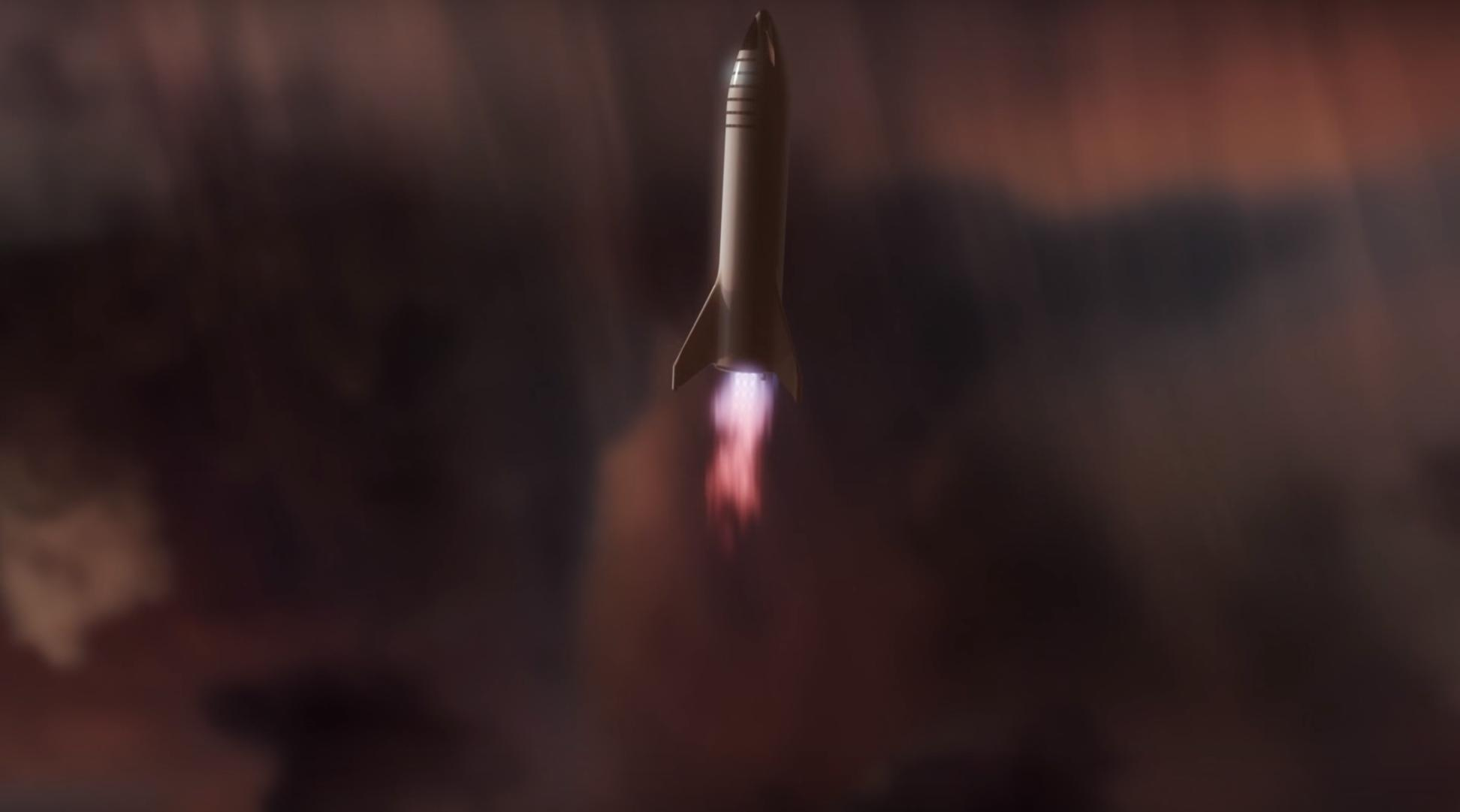 BFR 2018 Mars reentry (SpaceX) 4(c)
