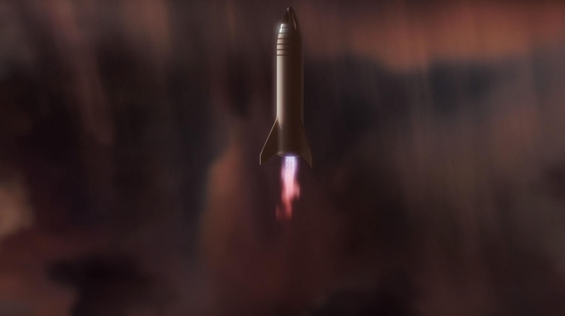 BFR 2018 Mars reentry (SpaceX) 5(c)