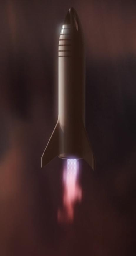BFR 2018 Mars reentry (SpaceX) 6(c)