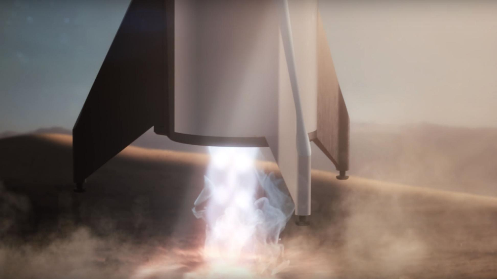 BFR 2018 Mars reentry (SpaceX) 8(c)