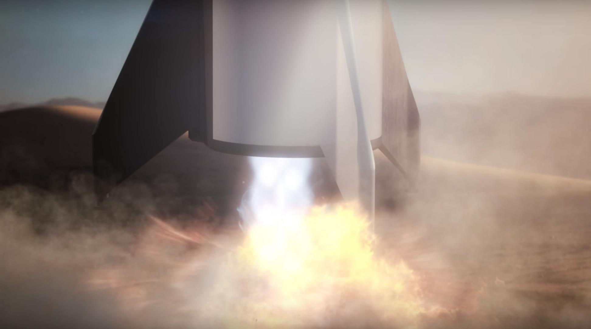 BFR 2018 Mars reentry (SpaceX) 9(c)